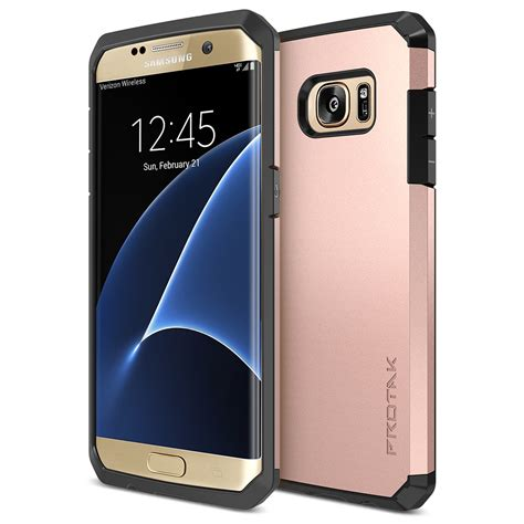 Samsung S7 Gold trianium protak series for samsung galaxy s7 edge gold