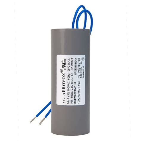 capacitor for hid ballasts hid lighting capacitor 400v aerovox d84w4024m01h