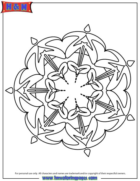 abstract mandala coloring page h m coloring pages