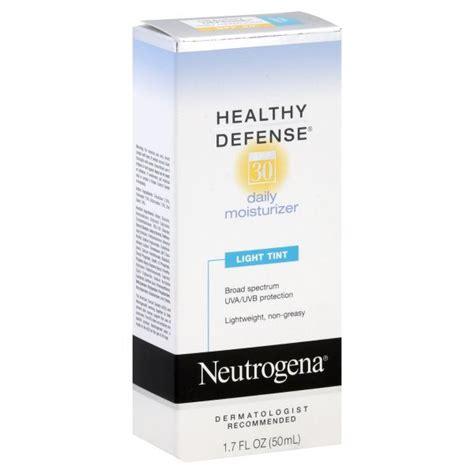 neutrogena healthy defense moisturizer light tint neutrogena healthy defense daily moisturizer light tint