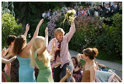 wedding crashers shout song fashion evolution