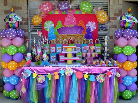 candyland theme decorations land birthday ideas photo 4 of 16 catch my