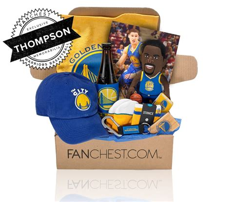 Gifts Designed For Mba Golden State Warriors by Klay Thompson Gift Box Autographed Memorabilia