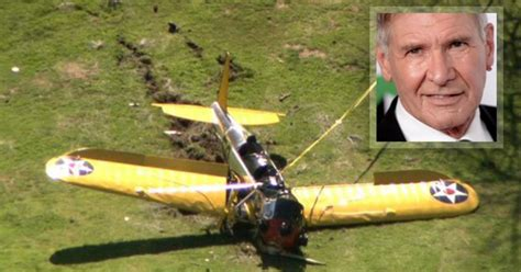 harrison ford plane crash actor harrison ford s plane crash lands on california golf