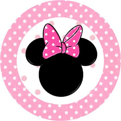 Sticker Rabbit Stiker Tempelan Post It Kue Cake Packing Box Bungkus minnie mouse free printable toppers or labels in pink is it for is it free is it