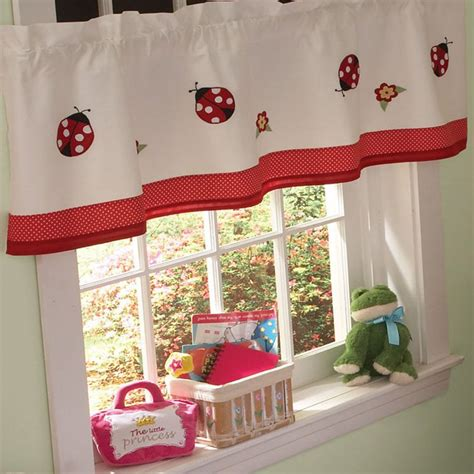 ladybug kitchen curtains ladybug kitchen curtains ladybug meadow tier window