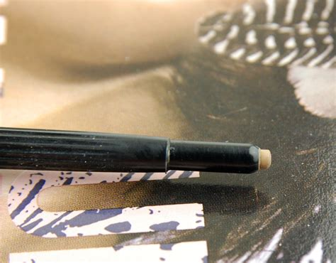 Mac Eyebrow Pencil mac cosmetics eye brow pencil in fling review swatch and