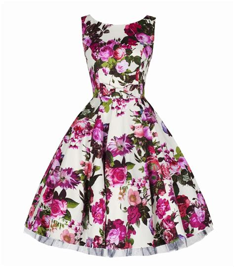 swing dress floral h r london audrey pink floral swing dress
