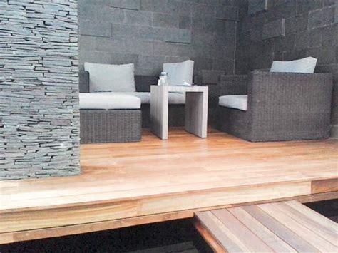 Lantai Kayu Decking Untuk Outdoor   SAKTI DESAIN