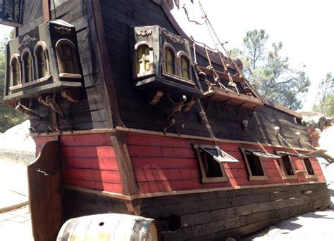 backyard pirate ship ahoy me mateys get a pirate ship playhouse for your