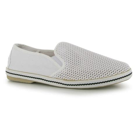 soulcal mens mesh casual shoes canvas slip on flat