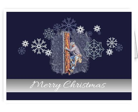 tnt merry christmas utility lineman greeting cards