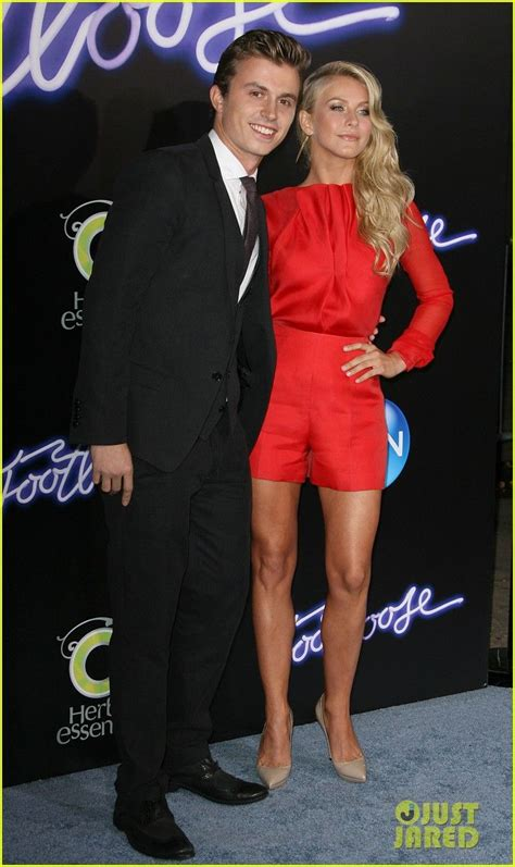 kenny wormald and julianne hough julianne hough kenny wormald footloose premiere 12