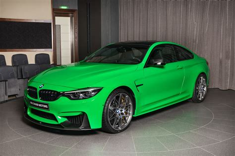 green bmw signal green bmw m4 competition pack is scintilating