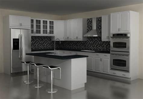 Stunning Contemporary Kitchen With Dark Brown Counter