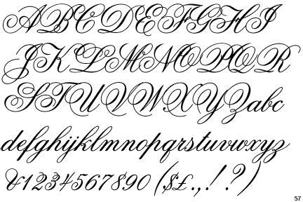 identifont flemish script