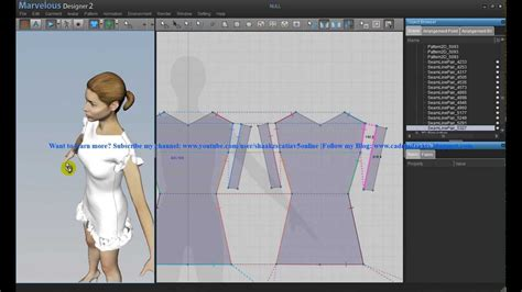 fashion design pattern making youtube how to create a simple dress p1 marvelous designer