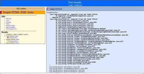 xml reports tutorial testng html and xml reports