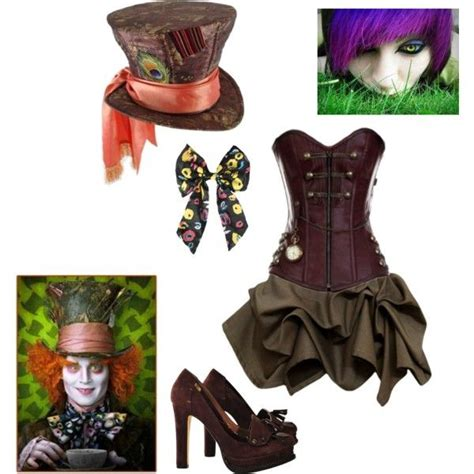 The Mad Hatter costume by sperrbear101 on Polyvore ... Female Mad Hatter Costume