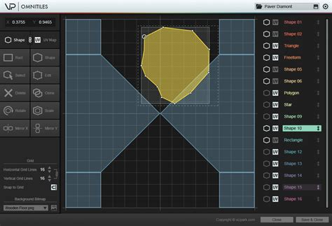 editor design pattern omnitiles vizpark