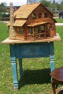 9 best images about log cabin doll houses on