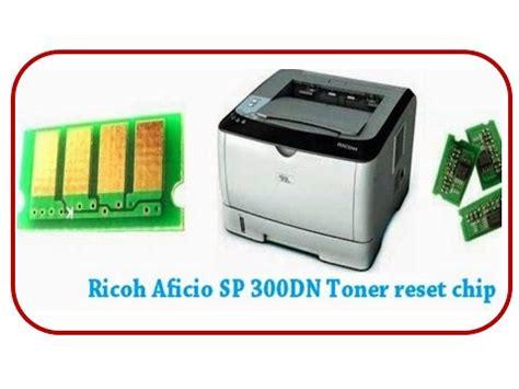 Toner Reset Chip For Ricoh Aficio Sp 300dn | ricoh sp300dn cartridge chip replacing youtube