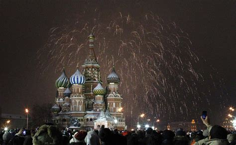 new year celebration in russia russia