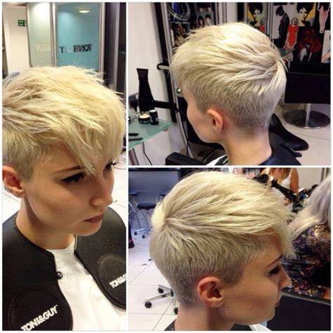 360 view of pixie haircuts with long bangs 1000 ideas about pixie faux hawk on pinterest faux hawk