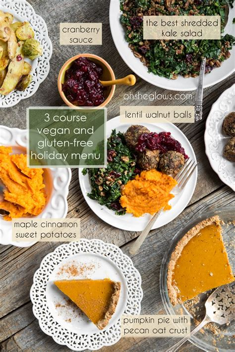 3 course dinner ideas 3 course vegan and gluten free menu step by step