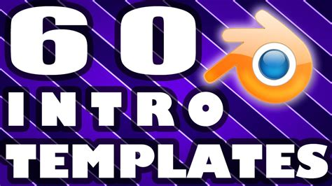 top 60 intro templates for blender top 60 blender intro template free download 2015 youtube