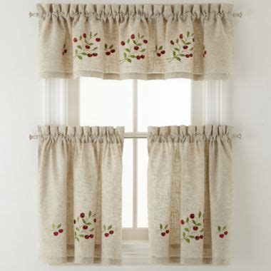 Jcpenney Kitchen Curtains Low Wedge Sandals Kitchen Curtains Jcpenney