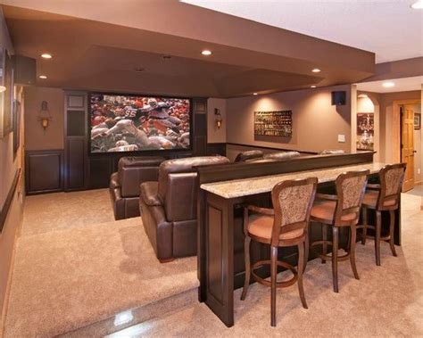 bar table entertainment room   Entertainment Room Ideas
