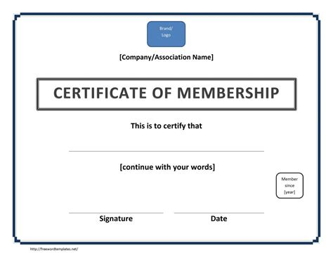 free certificate of template new certificate free template certificate templates