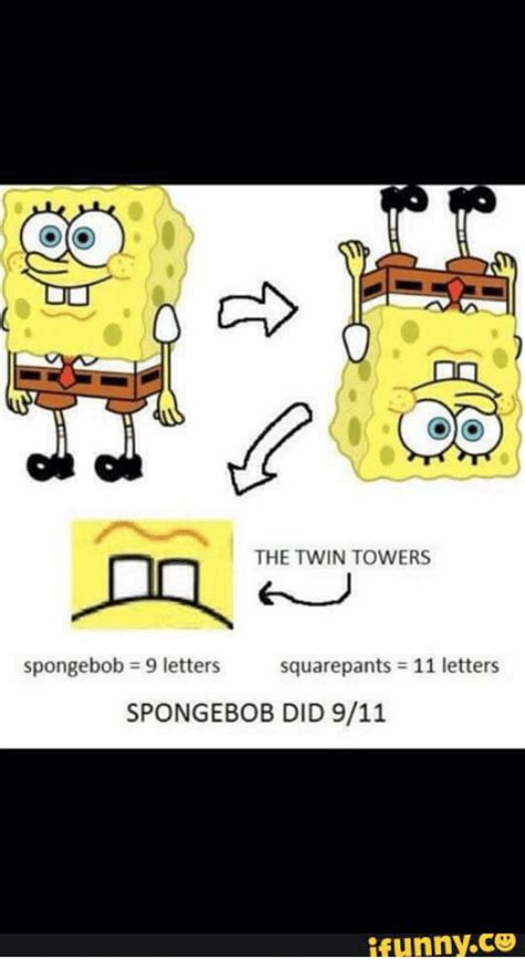 Meme Letters - 25 best memes about spongebob conspiracy theory