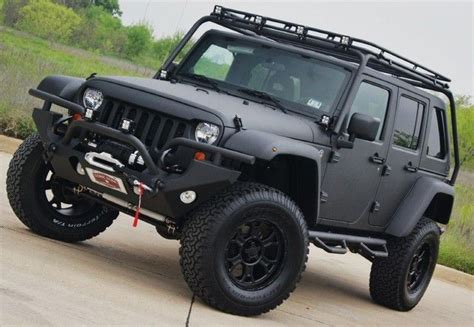 jeep modified black matte black modified jeep jeep