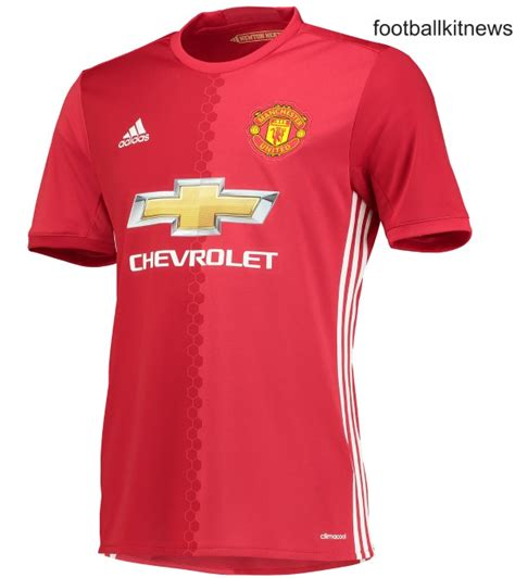 United Home by New Manchester United Home Jersey 2016 2017 Football Kit