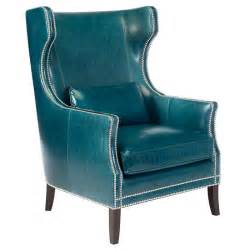 Teal Leather Chair From My Living Room June 2010