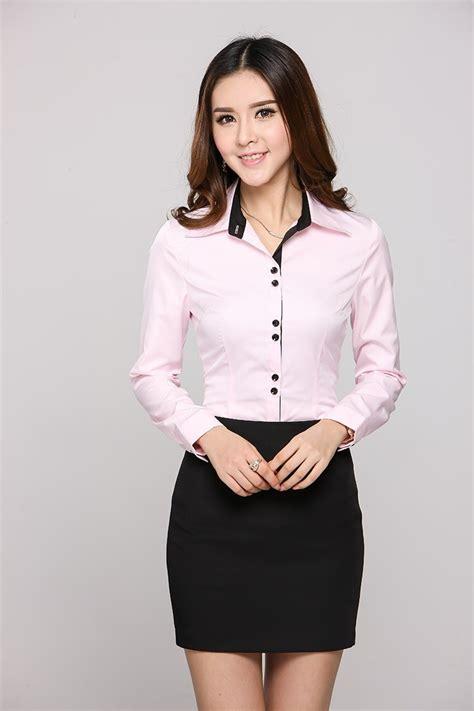 blusas para uniformes elegantes blusa camisera sastre buscar con google moda pinterest