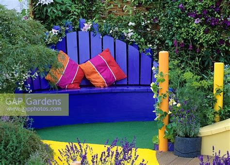 painted wooden garden bench gap gardens painted wooden garden bench image no 0085452 photo by j s sira
