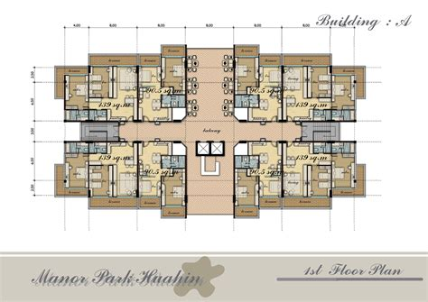 Apartment Architecture Design Plans Apartment Building Floor Plans Mapo House And Cafeteria
