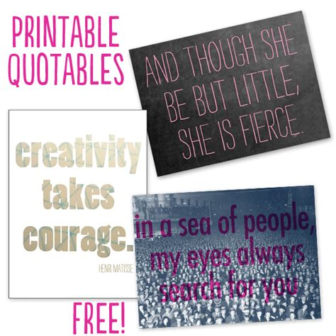 printable quotes about life project life cards printable quotes