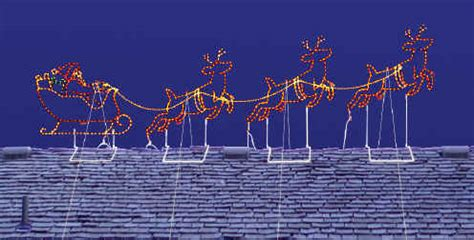 28 best santa and reindeer roof decoration it is all