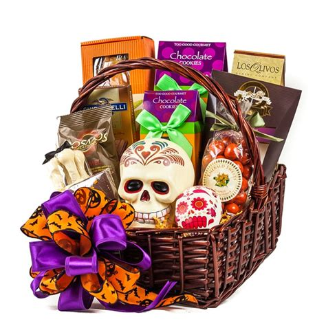 gifts for and day of the dead gift basket
