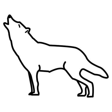 imagenes para colorear lobo dibujos para colorear lobo