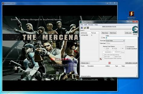 resident evil 5 cheats pc trainer download resident evil 5 pc how to use model swap trainer memory