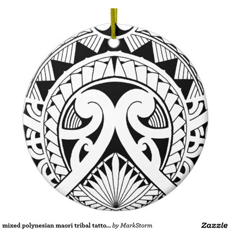 round tribal tattoo designs mixed polynesian maori tribal coconut leaf ceramic