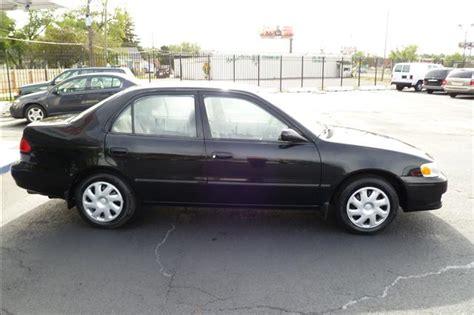 2002 Toyota Corolla Parts 2002 Toyota Corolla Ce S Le Black With Warranty Detroit