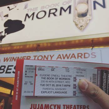 book of mormon standing room the book of mormon 224 photos 582 reviews performing arts 230 w 49th st theater