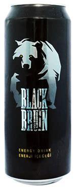 caffeine  black bruin energy drink