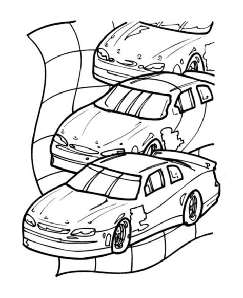 free coloring pages of checkered flag